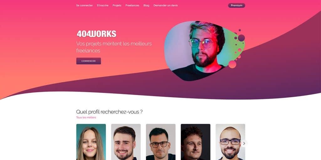 404Works, plateforme communautaire